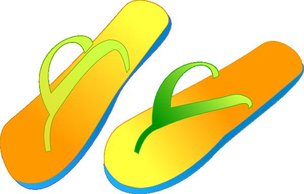 Flip Flops Clip Art at Clker.com.