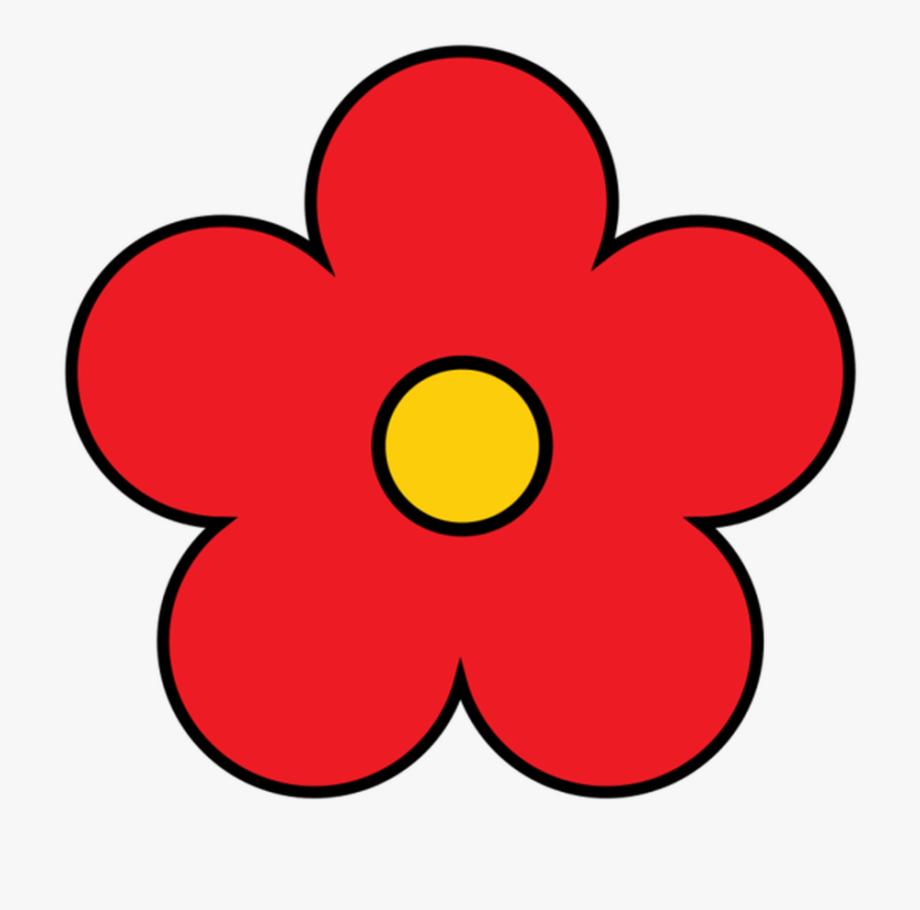 Flower Clipart Cute Flower Flower Pretty Flower Red.