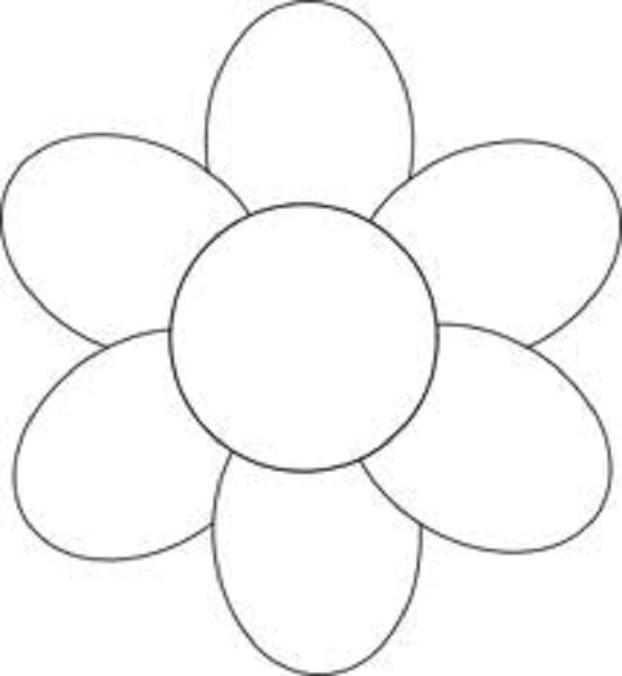 Showing post & media for Cartoon flower outline.
