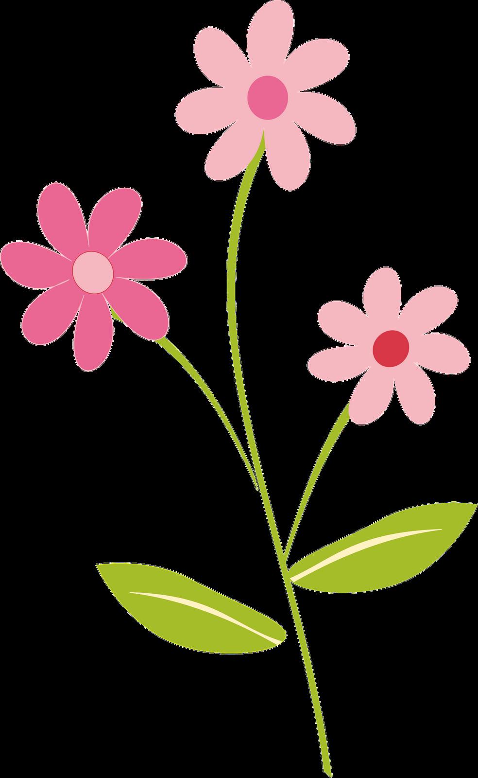 Free Clip Art Of Cartoon Flowers.