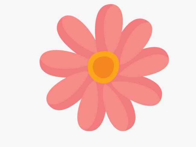 Spring Flowers Cartoon Vector Material, Spring Vector, Cartoon.