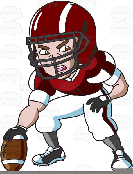Free Cartoon Football Clipart.
