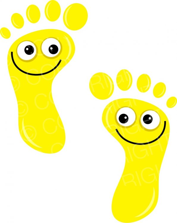 Footprints clipart cartoon, Footprints cartoon Transparent.