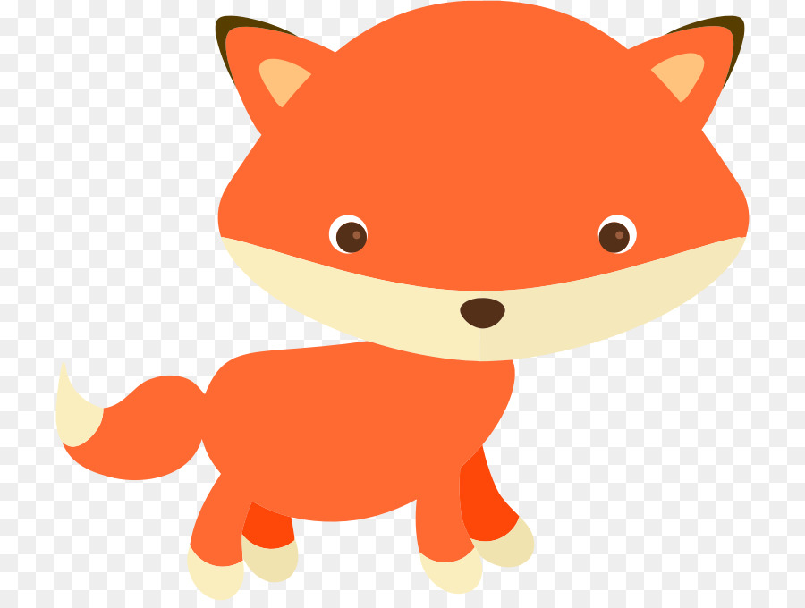 Fox Cartoon clipart.