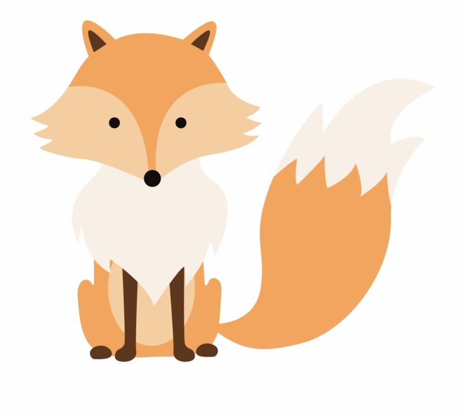 Cartoon Fox Sitting Free PNG Images & Clipart Download #2011237.