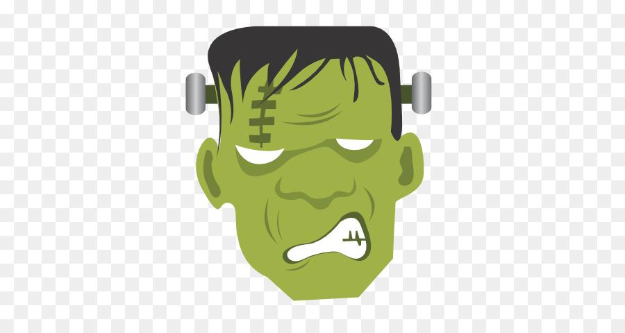 Frankenstein Cartoon clipart.