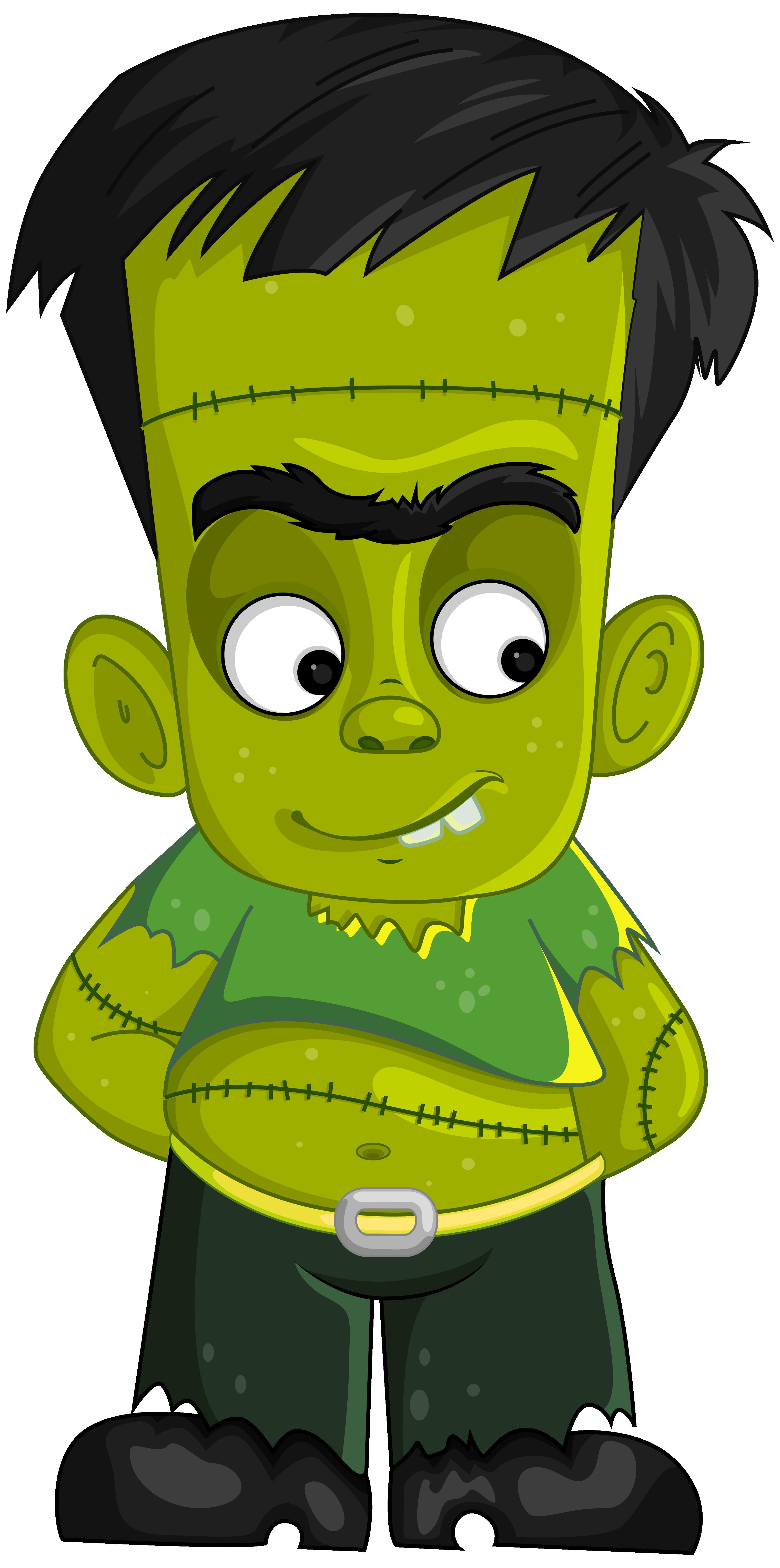 1785 Frankenstein free clipart.