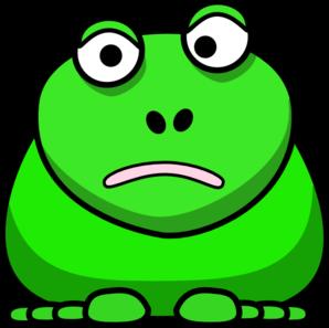 Cartoon Frog Clip Art at Clker.com.