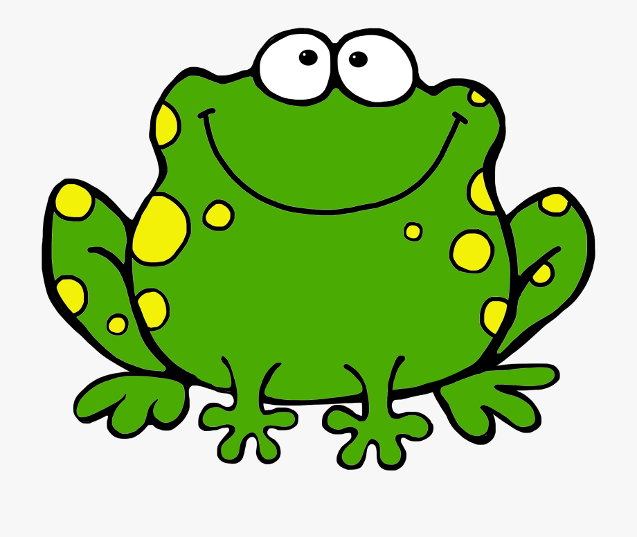 Frog Clip Art For Kids.