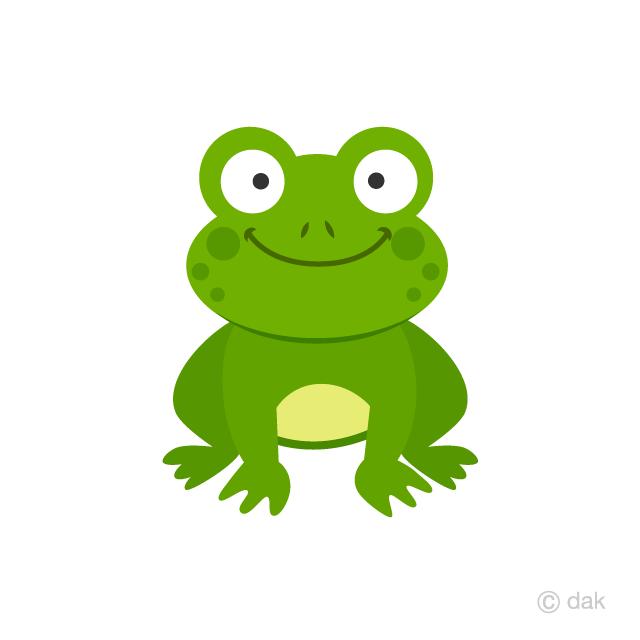 Free Frog Clipart Image|Illustoon.