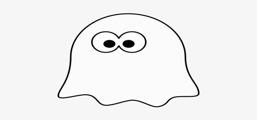 Cartoon Coloring Medium Size Scary Cartoon Ghost Png.