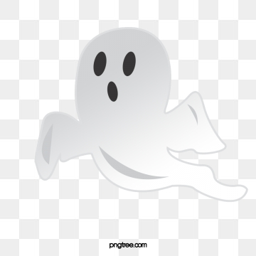 Cartoon Ghost PNG Images.