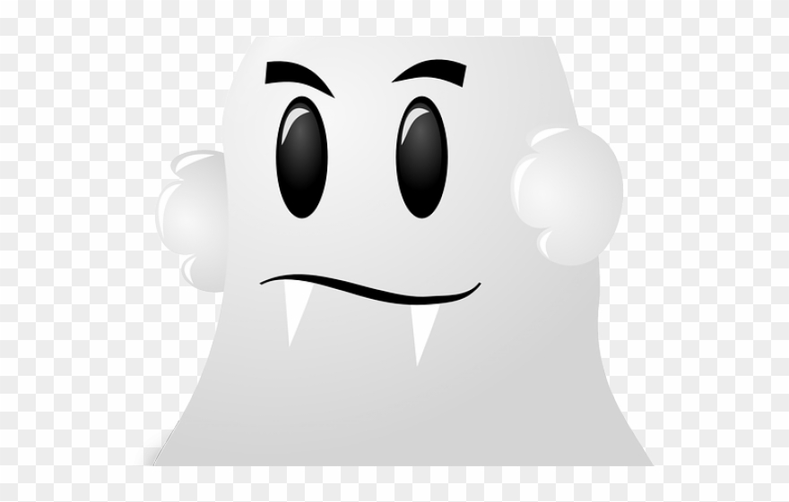 Moving Clipart Ghost.