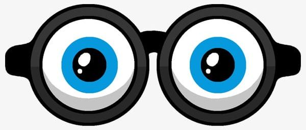 Cartoon Painted Glasses PNG, Clipart, Cartoon, Cartoon.