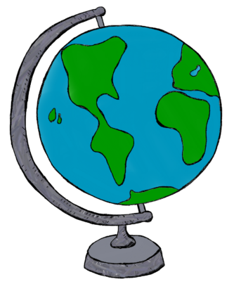 Cartoon Globe Group with 86+ items.