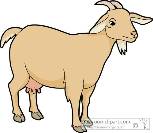 Goat Clipart to Download.