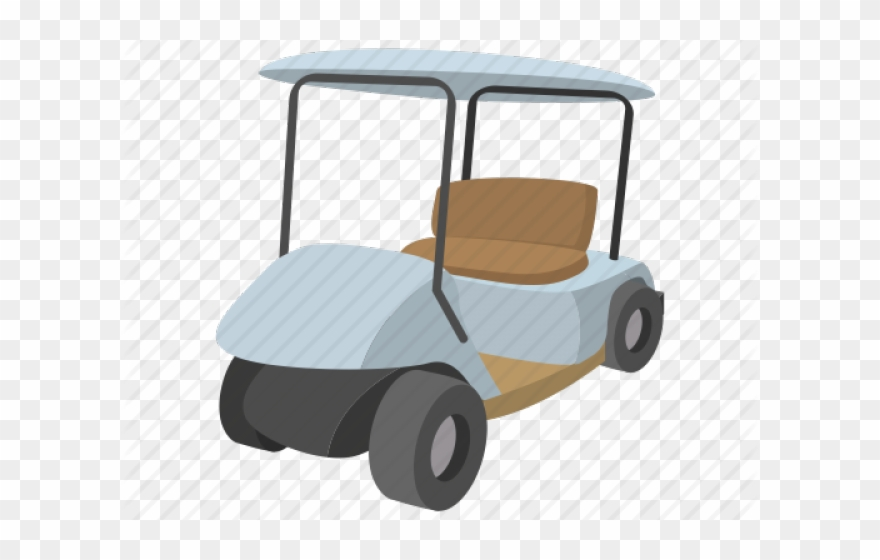 Cartoon Golf Cart Clipart (#2440660).
