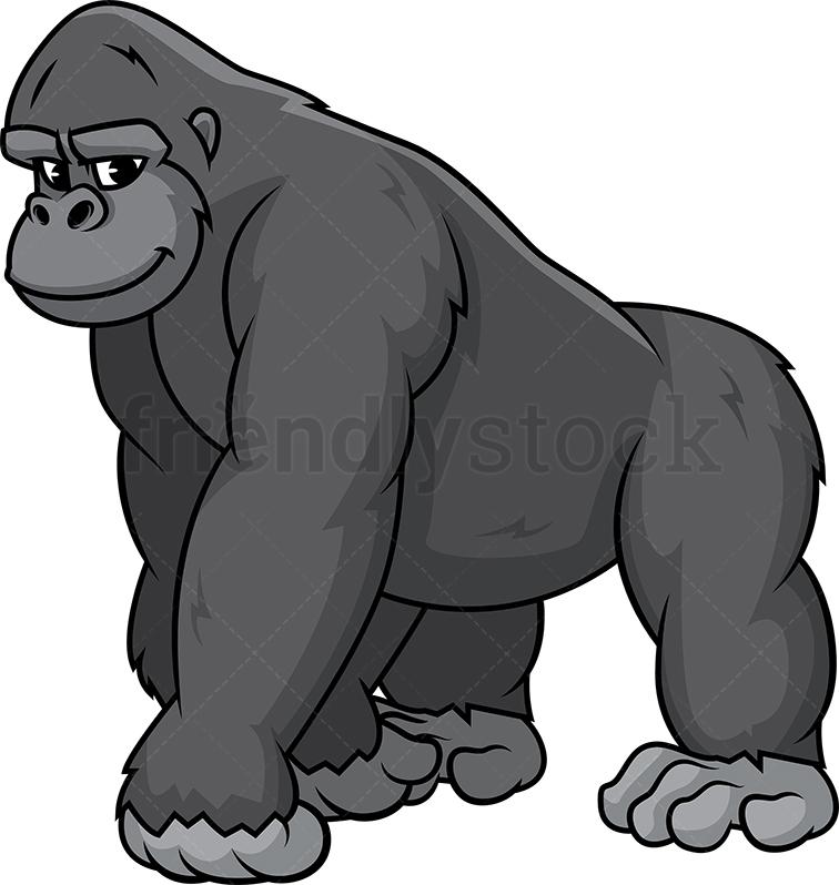 Wild Gorilla.