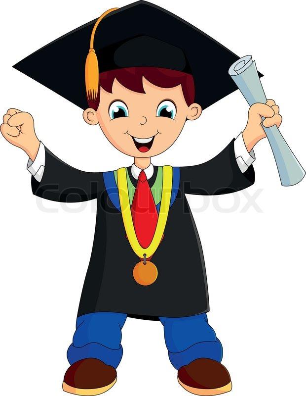 Cartoon graduation clipart 7 » Clipart Station.