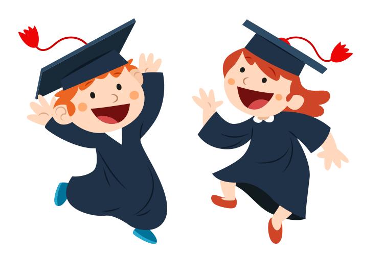 Cartoon graduation clipart 4 » Clipart Station.