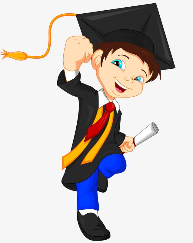 Dr. Cartoon, Cartoon Clipart, Graduation, Happy PNG Transparent.