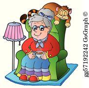 Grandma Clip Art.