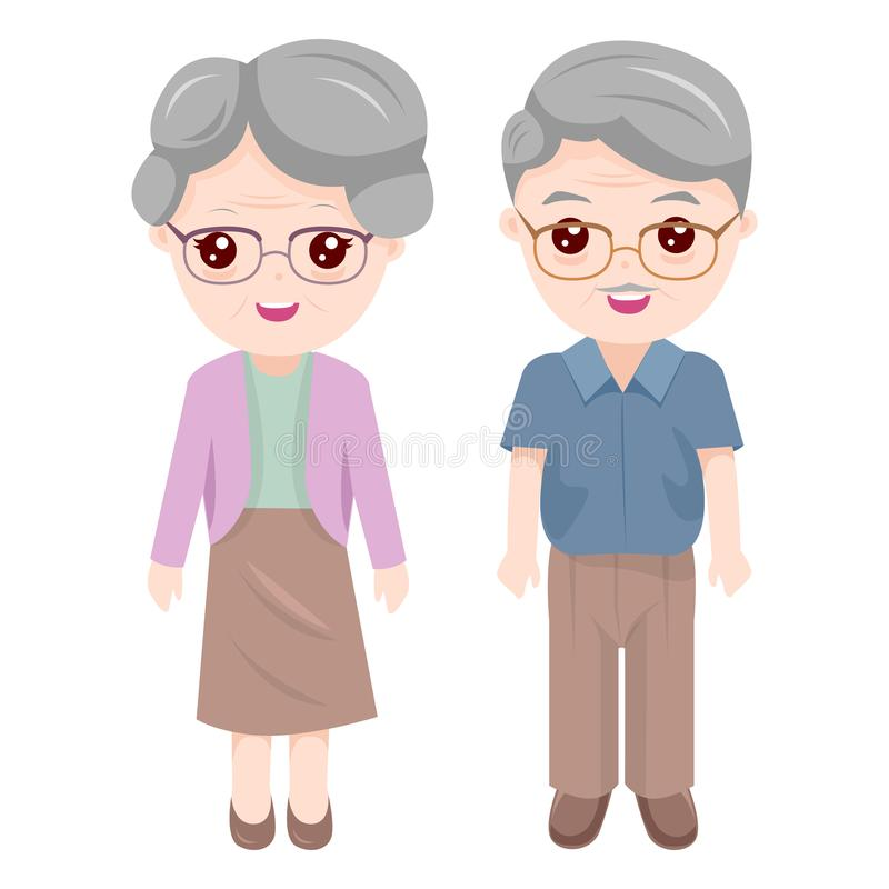 Grandma Stock Illustrations.