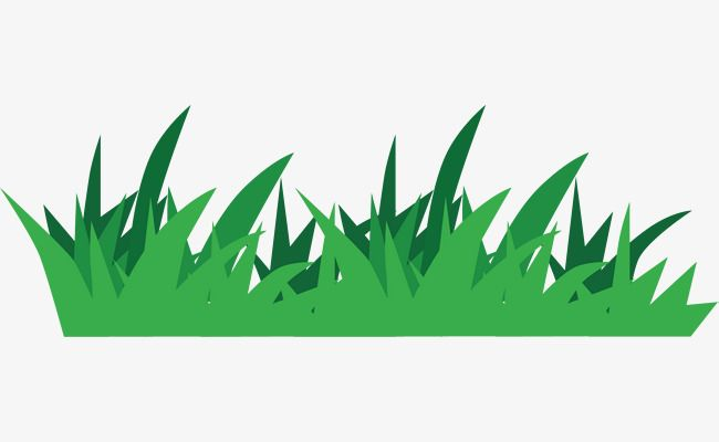 Cartoon Grass, Turf, Green Land, Grassland PNG and Vector with.