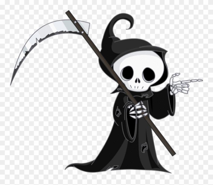 Grim Reaper Clipart Png Transparent Png (#144256).