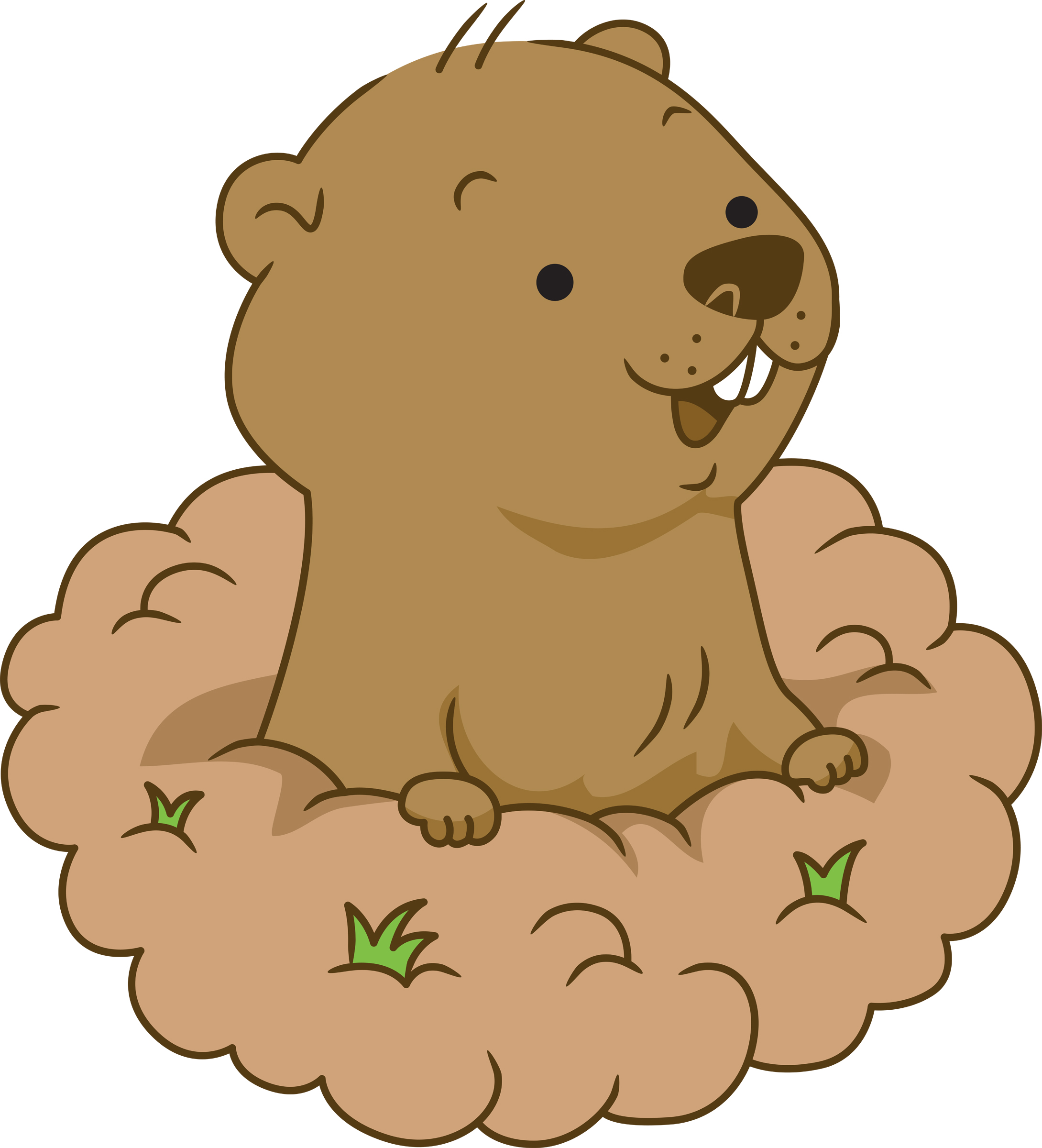Free Groundhog Cliparts, Download Free Clip Art, Free Clip.