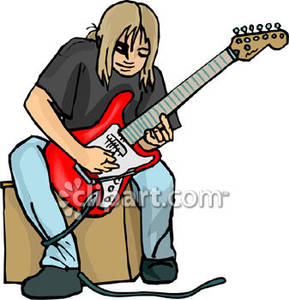 Showing post & media for Cartoon teenage boy playing the guitar.