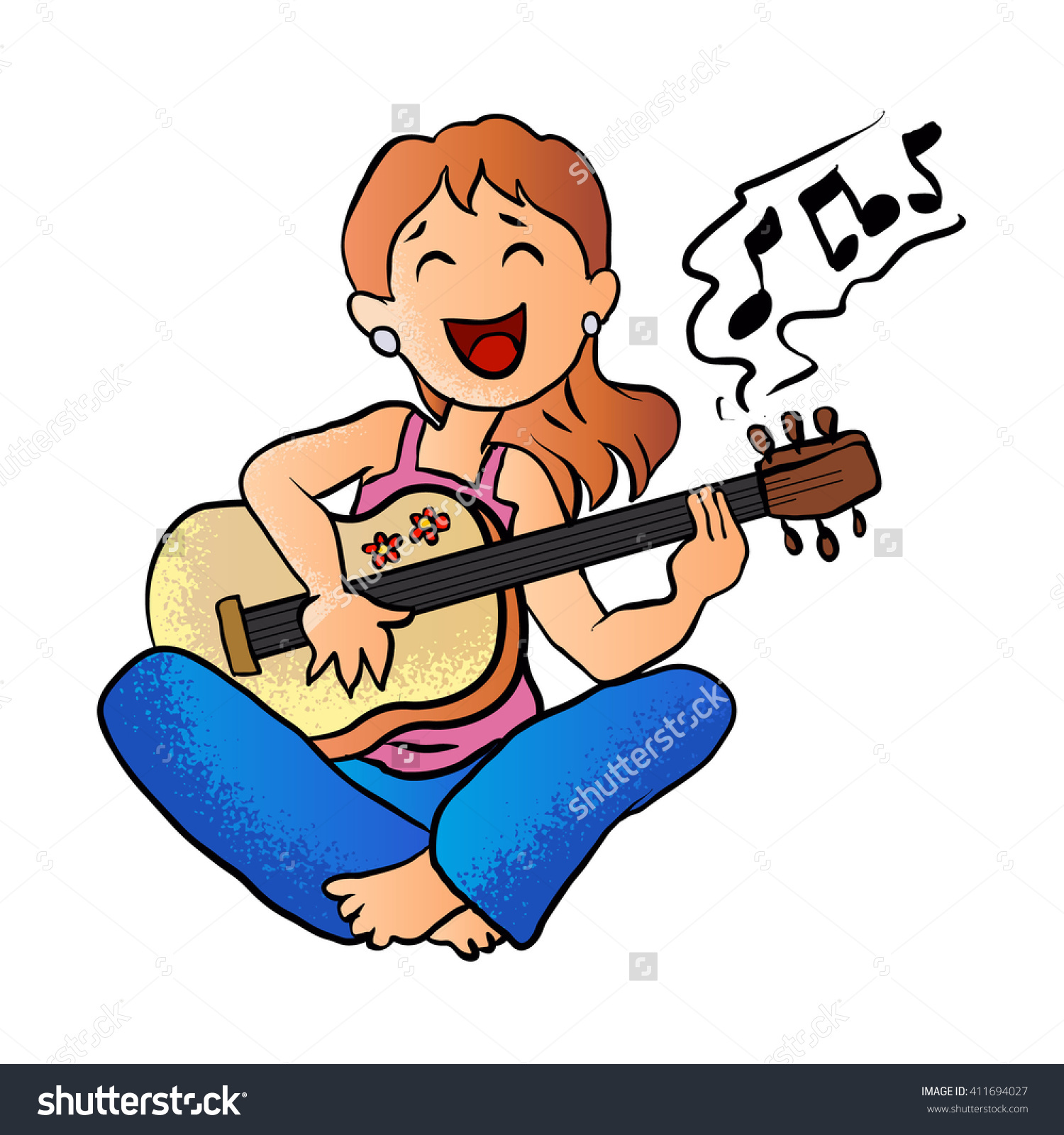 Showing post & media for Cartoon guitar playing.