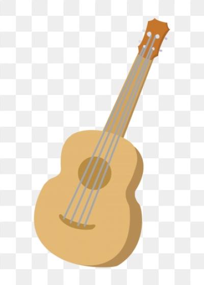 Cartoon Guitar PNG Images.