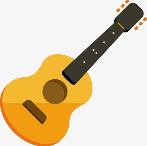Her Yellow Guitar PNG, Clipart, Acoustic Guitar, Backgrounds.