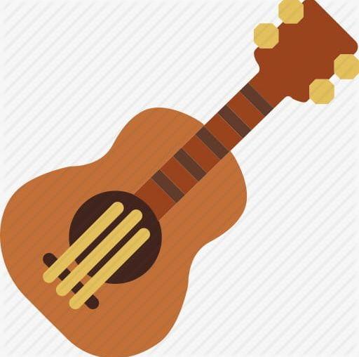 Cartoon Guitar PNG, Clipart, Acoustic Guitar, Acoustic Instrument.