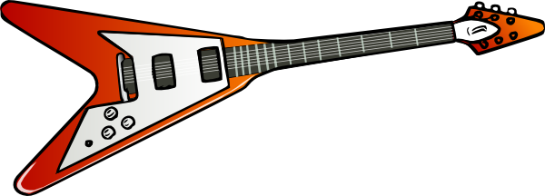 Pictures Of Cartoon Guitars.