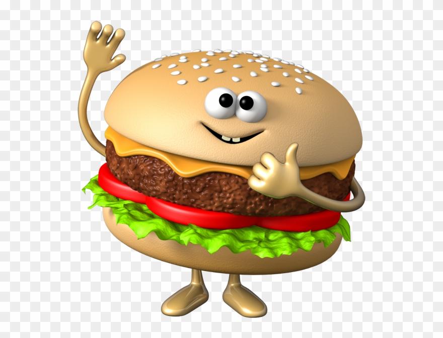Hamburger Clipart Vegetable Burger.