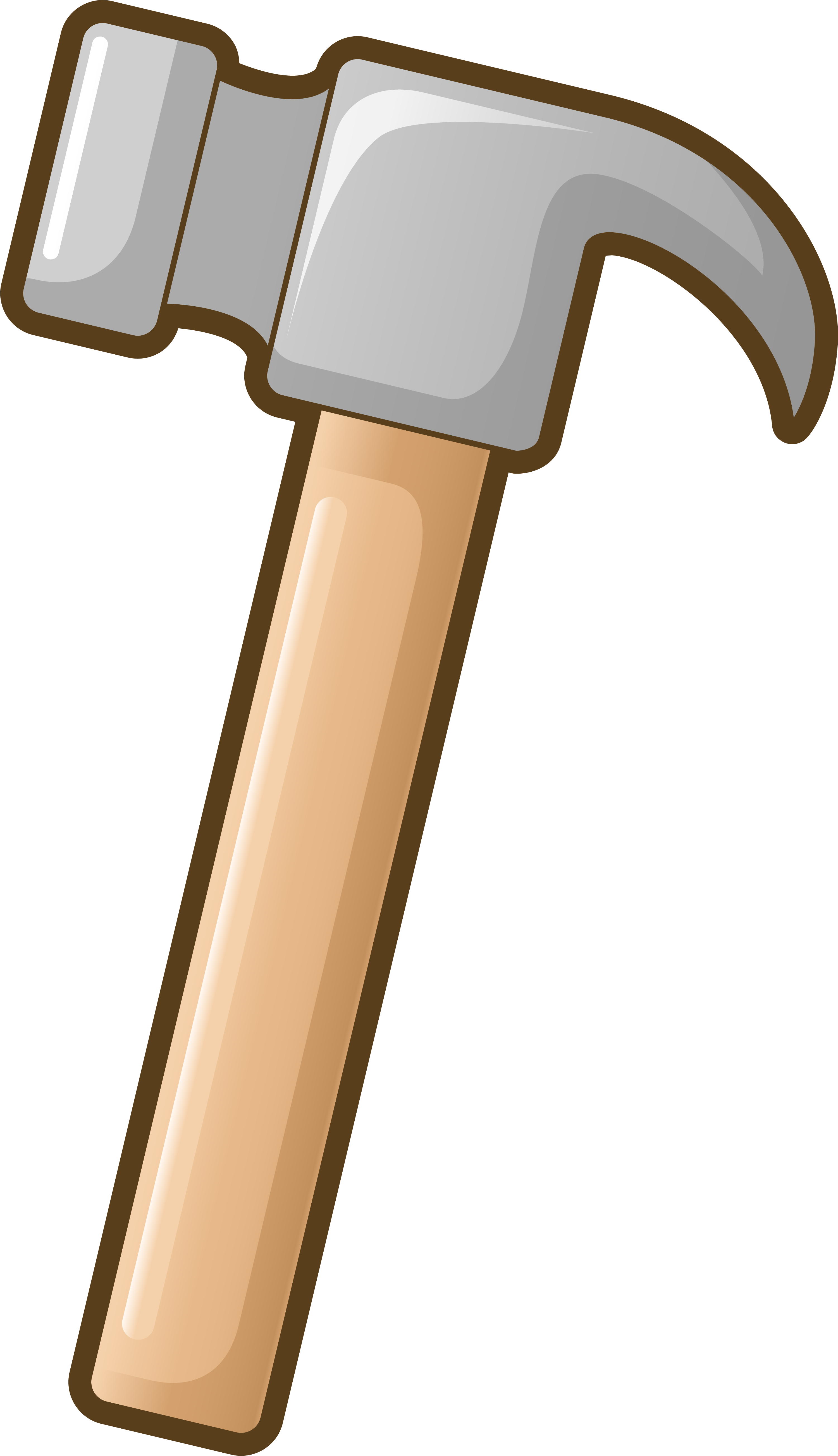Hammer Tool Cartoon.