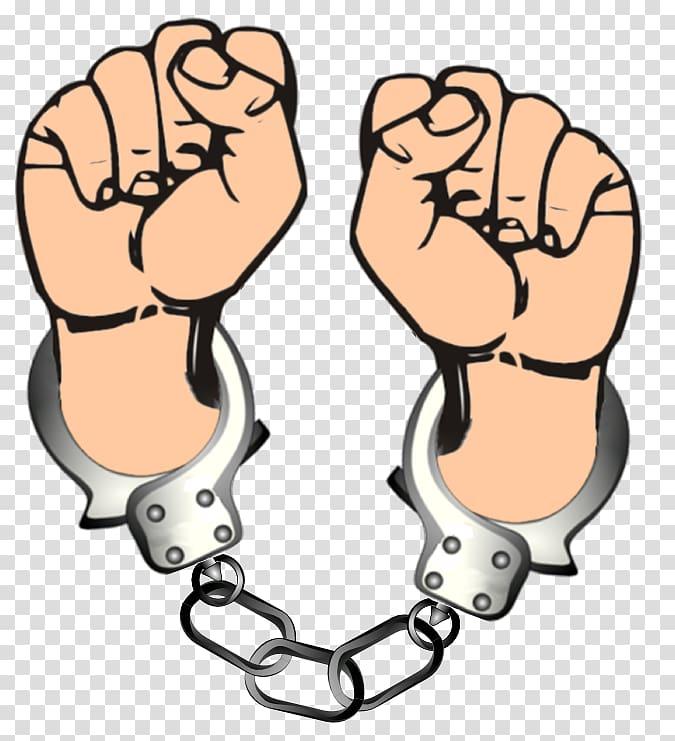 Handcuffs Police officer Arrest , handcuffs transparent.