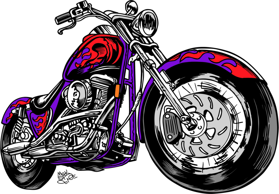 motorcycle clip art clipart Motorcycle Harley.