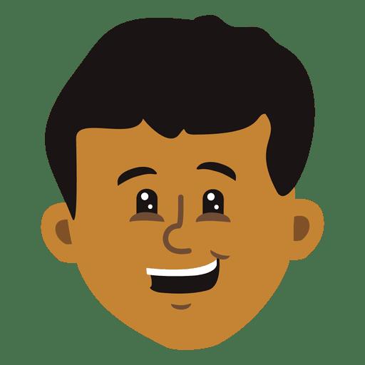 Boy cartoon head 3.