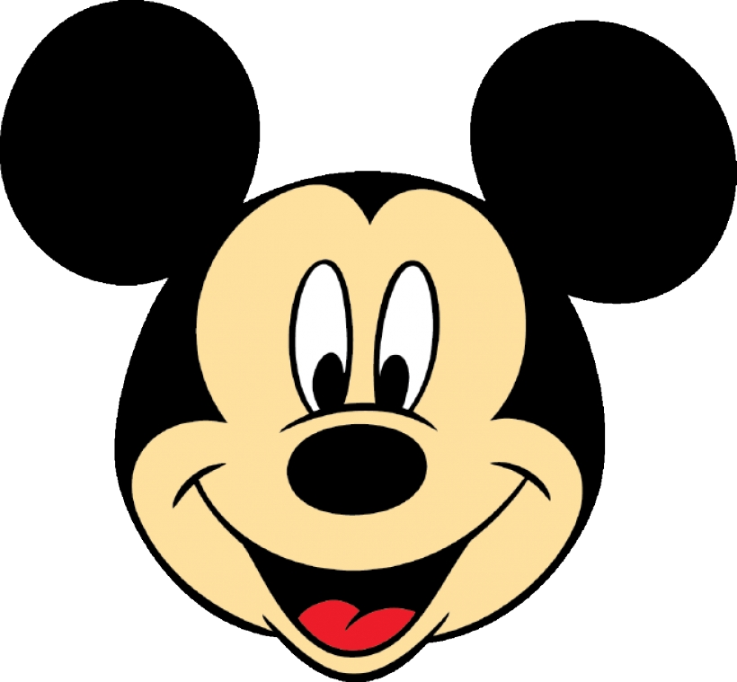 Mickey Mouse Head PNG Image.