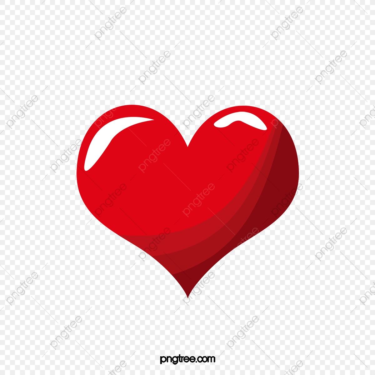Red Heart Cartoon Heart Outline, Heart Clipart, Cartoon Clipart, Red.