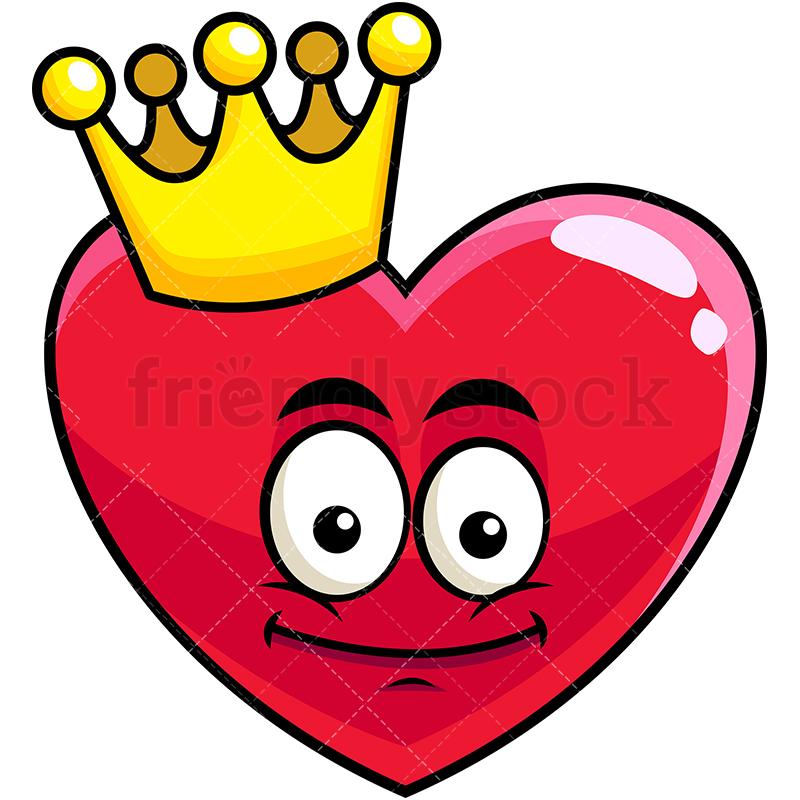 King Heart Emoji.