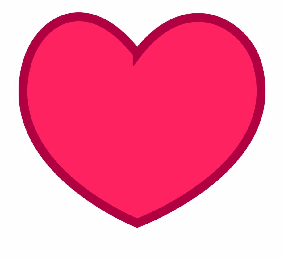 Pink Heart Vector Png.