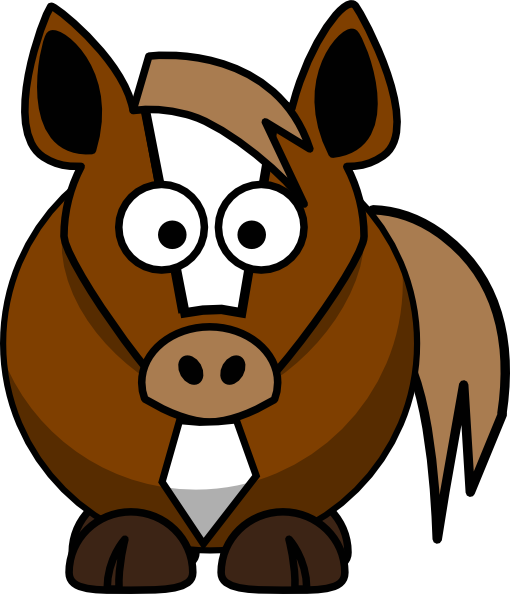 Free Cartoon Horse, Download Free Clip Art, Free Clip Art on Clipart.