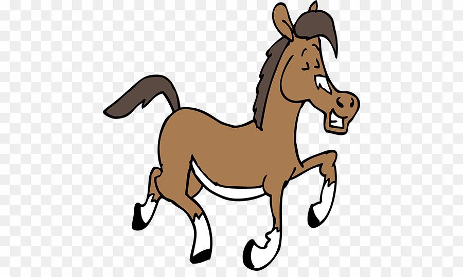 Cartoon Horse PNG American Quarter Horse Mustang Clipart download.