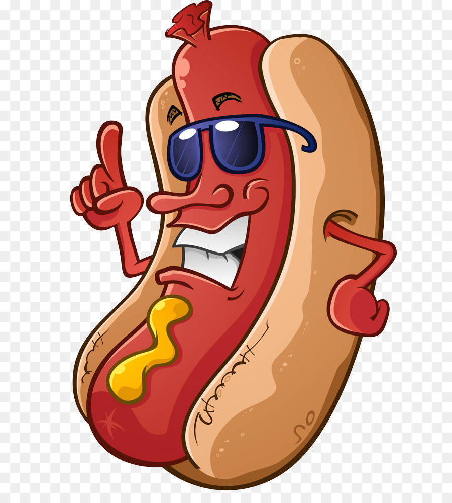 1532 Hot Dog free clipart.
