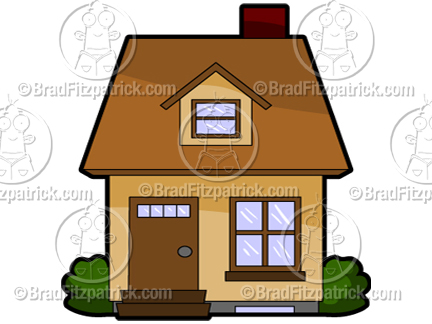 Cartoon House Clipart Picture Royalty Free Clip Art Licensing.