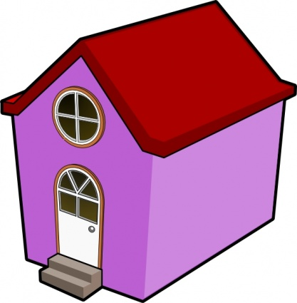Cartoon Images Of Houses.